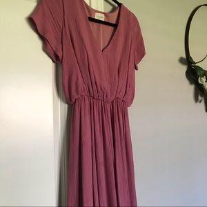 Dresses & Skirts - Mauve Tea-Length Dress
